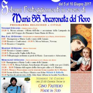 Manifesto Festa Rovo 2017