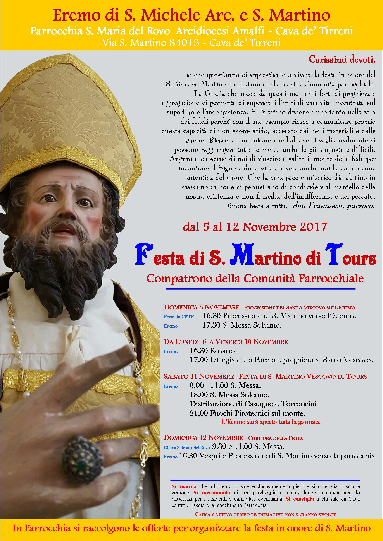 Manifesto S. Martino - 2017