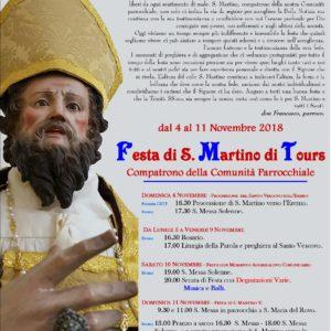 Manifesto S. Martino - 2018