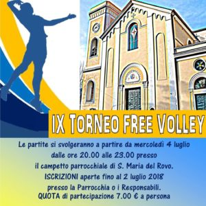IX Ed. Torneo Free Volley