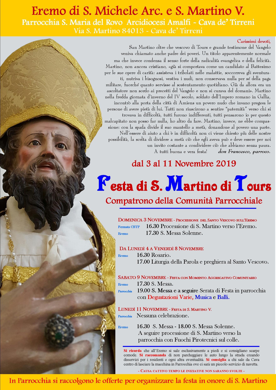 Manifesto S. Martino - 2019